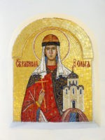 Княгиня Ольга. Мозаика