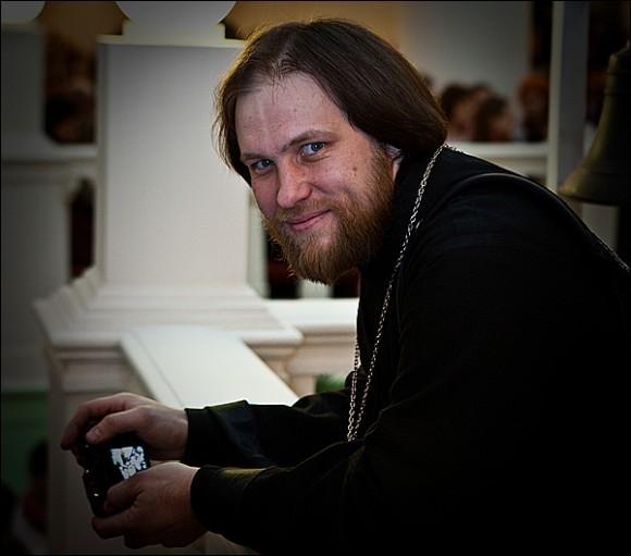 Священник Игорь Палкин. Фото Юлии Маковейчук