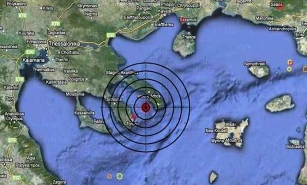 На Святой Горе Афон произошло землетрясение