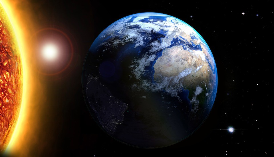 сотворение мира по Библии. Солнце и Земля