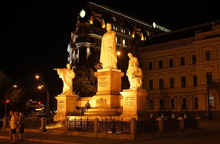 Княгиня Ольга. Памятник в Киеве