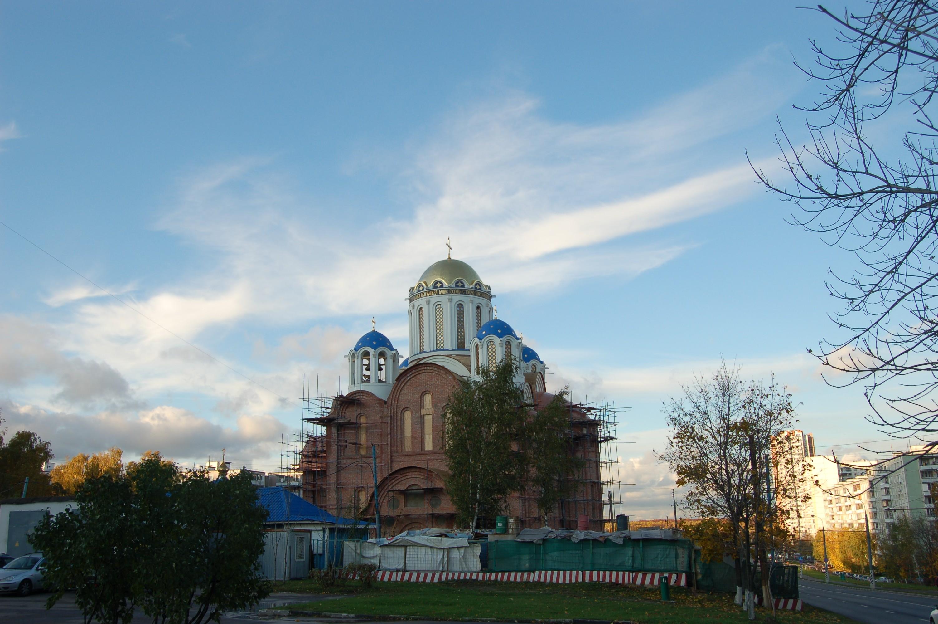 Уникальный проект Покровского храма в Ясенево позволит прикоснуться к святыням Святой Земли, не покидая столицу