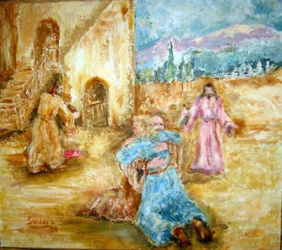 Возвращение блудного сына. Жозеф Сандора