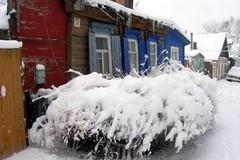 Зима на Полевой