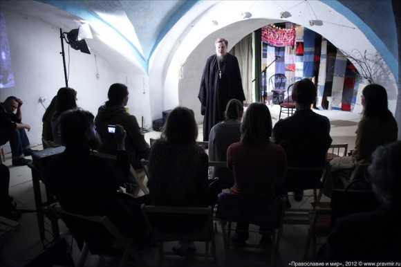 Открытие арт-центра в храме свт. Николая на Трех горах. Фото Михаила Моисеева (16)