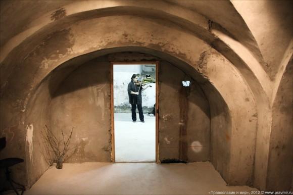 Открытие арт-центра в храме свт. Николая на Трех горах. Фото Михаила Моисеева (7)