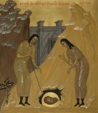 Второе обретение главы Иоанна Предтечи. Источник: www.mpda.ru