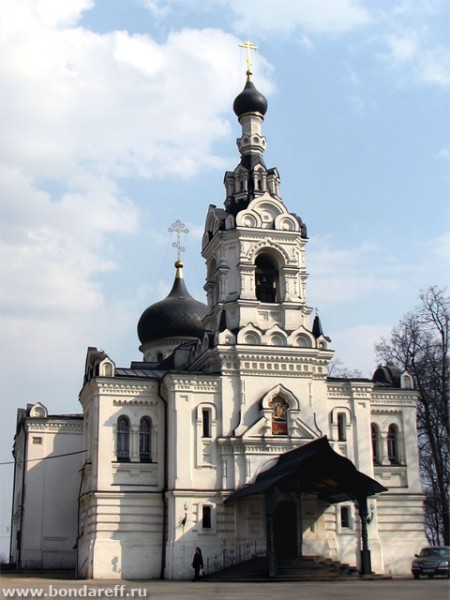 Церковь Успения Пресвятой Богородицы в Троице-Лыково. Икона Божией Матери Державная