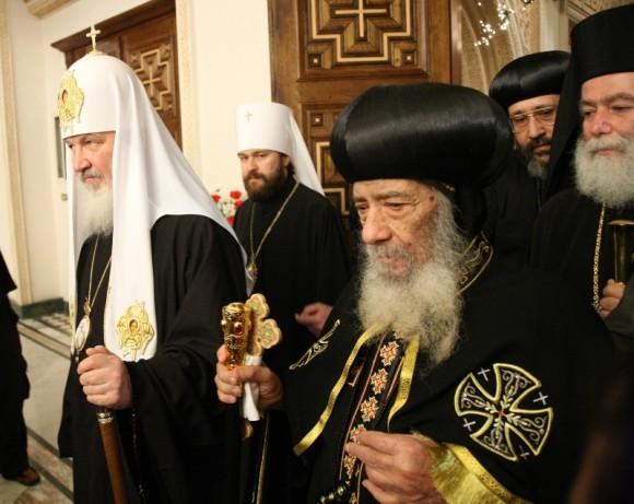 С Патриархом Кириллом