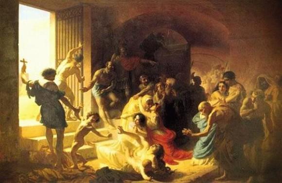 Константин Флавицкий. Христианские мученики в Колизее. 1862