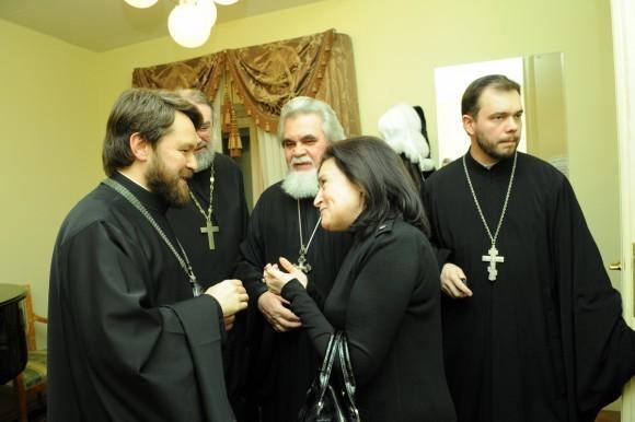 страсти по Матфею митрополита Илариона. Фото: mospat.ru