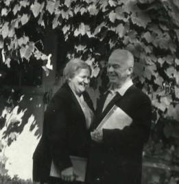Екатерина Александровна и Борис Петрович Ефимовы