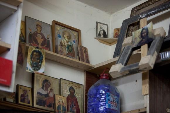 В мастерской Александра Соколова