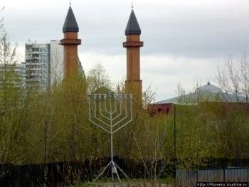 """Храмовый комплекс трёх религий """"Малый Иерасулим"""" в Отрадном."""