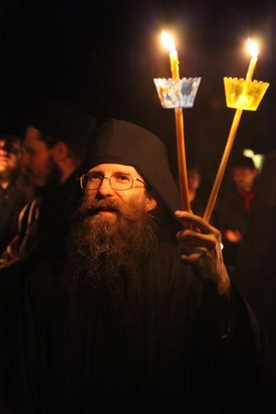Возвращение игумена Ефрема в Ватопедский монастырь Афона (5)