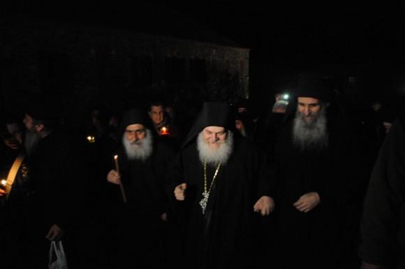Возвращение игумена Ефрема в Ватопедский монастырь Афона (6)