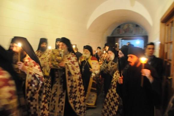 Возвращение игумена Ефрема в Ватопедский монастырь Афона (9)