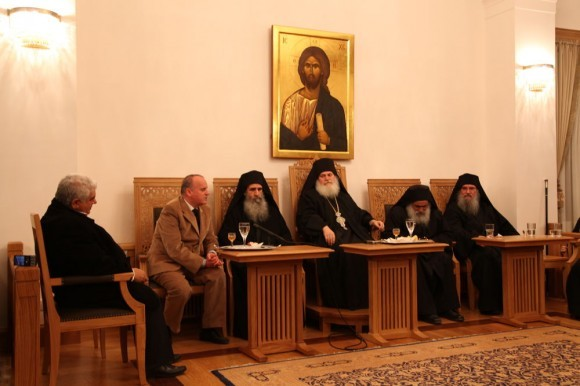 Возвращение игумена Ефрема в Ватопедский монастырь Афона (13)