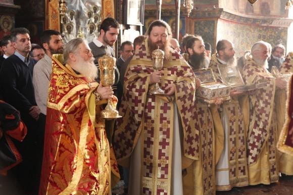 Возвращение игумена Ефрема в Ватопедский монастырь Афона (19)