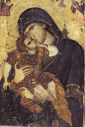 Сладкое Лобзание - чудотворная икона монастыря Филофей