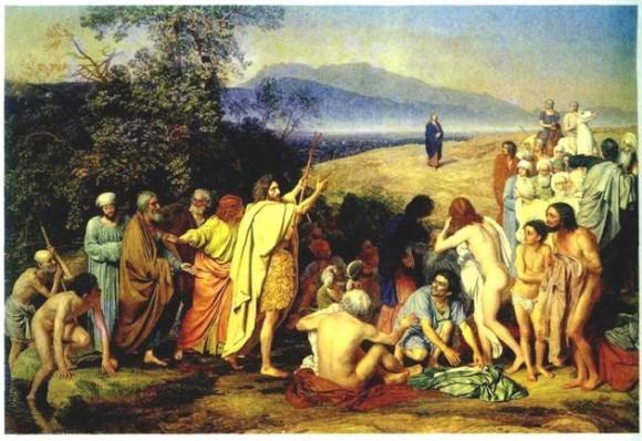 """А. Иванов, """"Явление Христа народу"""", 1857"""