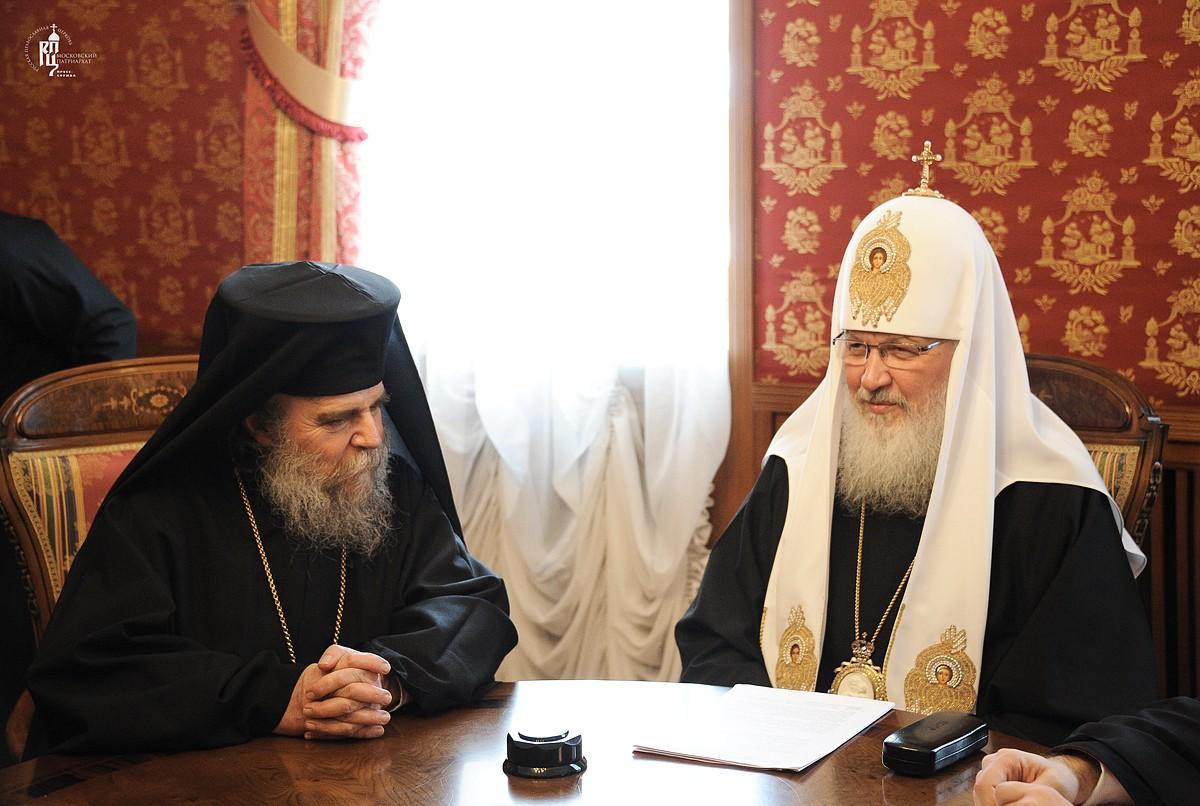 Патриарх Кирилл выразил озабоченность оттоком христиан из ближневосточных стран