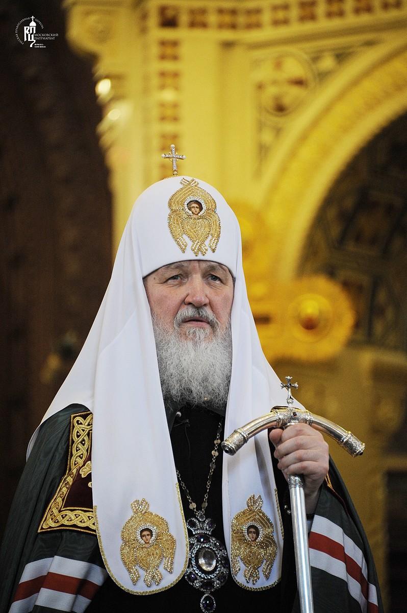 Патриарх Кирилл: Человек, сознающий смысл своего креста, обретает силу изменять мир к лучшему