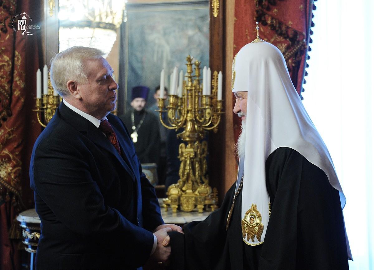 Патриарх Кирилл обсудил с представителями баптистов вопросы сотрудничества в социально значимых сферах