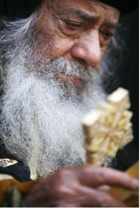 Патриарх Кирилл выразил соболезнования Коптской Церкви в связи с кончиной Папы Шенуды III