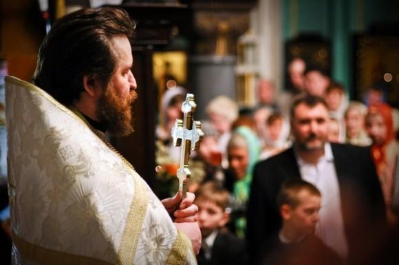 В Серебряном бору крещенские купания благословил архиепископ Марк  - фото 4