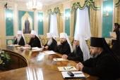 Синод учредил четыре новые митрополии