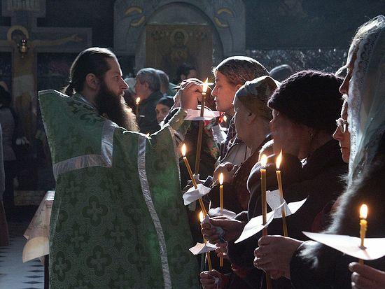 Соборование в Киево-Печерской Лавре. Фото: иеродиакон Василий (Новиков) / lavra.ua