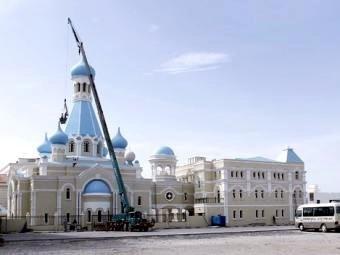 Первый православный храм на Аравийском полуострове в ОАЭ