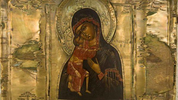 Чудотворная икона Божьей Матери «Феодоровская»