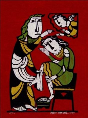 Японская гравюра, автор: Садао Ватанабэ
