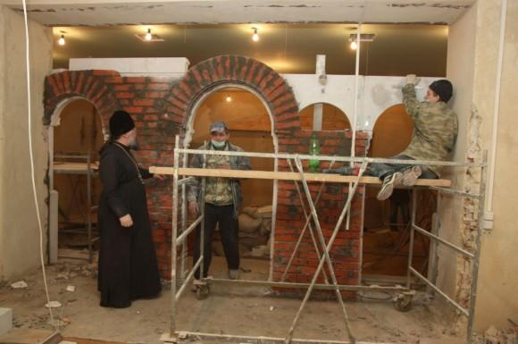 Строительство тюремного храма
