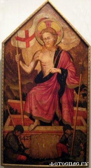 Воскресение Христово 1-я половина XV века. Нижний Новгород, художественный музей.