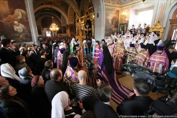 Великое освящение храма свт. Николая в Кузнецах. Фото Михаила Моисеева (5)