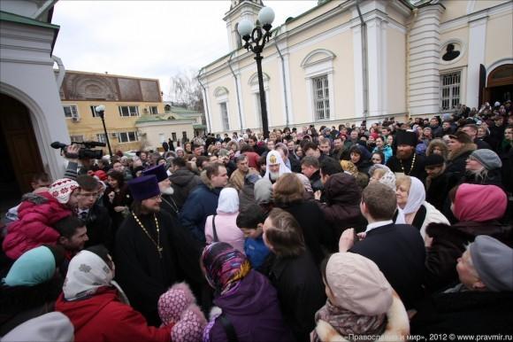 Великое освящение храма свт. Николая в Кузнецах. Фото Михаила Моисеева (1)