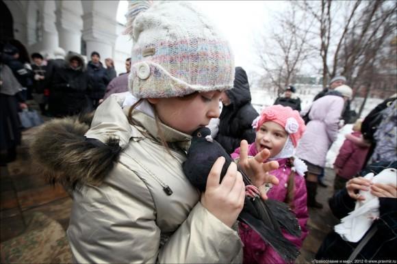 Благовещение. Фото Михаила Моисеева. Правмир  (12)