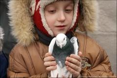 Благовещение: про детей и голубей