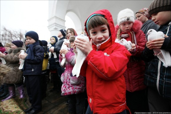 Благовещение. Фото Михаила Моисеева. Правмир  (14)