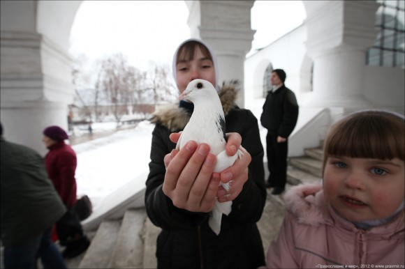 Благовещение. Фото Михаила Моисеева. Правмир  (15)
