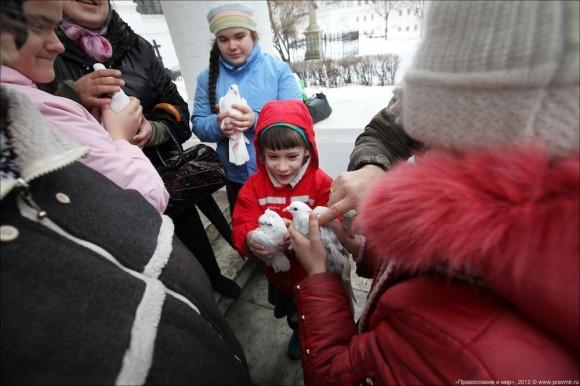 Благовещение. Фото Михаила Моисеева. Правмир  (8)