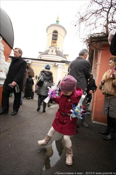 Детский крестый ход в день входа Господня в Иерусалим. Фото Михаила Моисеева (20)