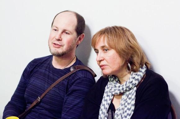 Иконописцы Сергей и Ольга Черные