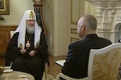 Пасхальное интервью Патриарха Кирилла (ВИДЕО + ТЕКСТ)
