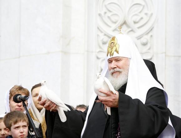 Благовещение. Святейший Патриарх Алексий. Фото: Патриархия.ру