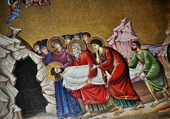 Роспись стен Храма Гроба Господня