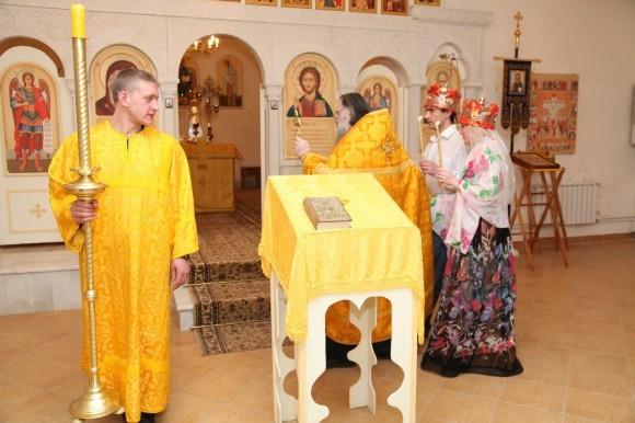 Венчание в храме СИЗО